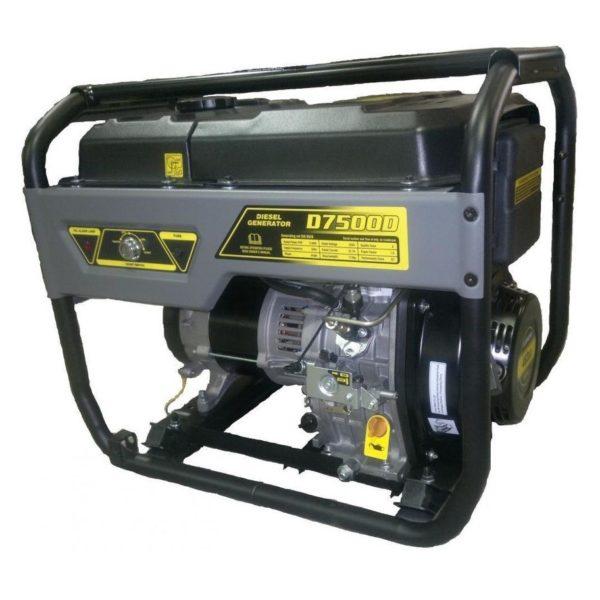 Дизельный генератор REG D7500D (1-фазный)