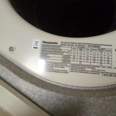 Кассетный кондиционер Panasonic CS F18DB4E5 на 50м2 (б/у)