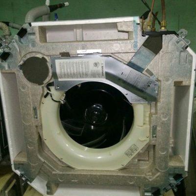Кассетный кондиционер Toshiba RAV-SM563AT-E на 50м2 (б/у)